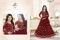 GEORGETTE WEDDING WEAR SALWAR SUITS