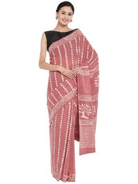 Block Printed Saree