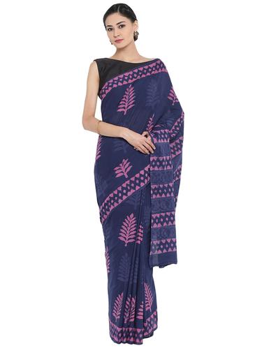 Dabu Print Cotton Saree