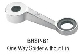 One Way Spider Fitting Without Fin