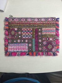 Banjara clutches With Mirror work