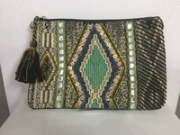 Embroidery Ladies Beaded Clutches