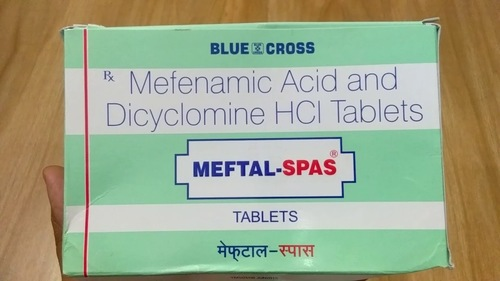 MEFENAMIC ACID, DICYCLOMINE TABLET