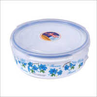 AIR TIGHT & LEAK PROOF ROUND CONTAINER 1600 ml ROUND BOX (PRINTED)