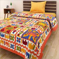 Multicolour Single Bed Sheet