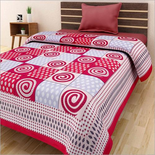 Printed Single Bedsheet