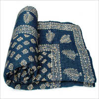 Blue Colour Japuria Quilt