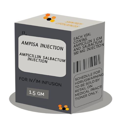 AMPICILLIN SALBACTUM INJECTION