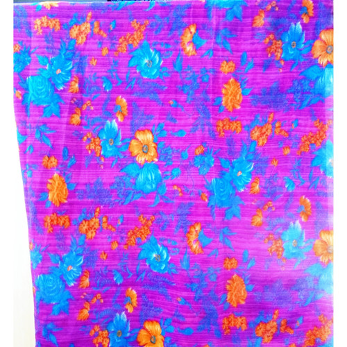 Flower  printed chiffon scarves