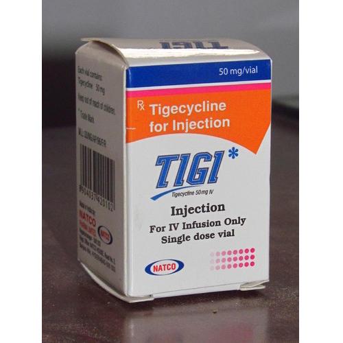 TIGECYCLINE 50 MG INJECTION