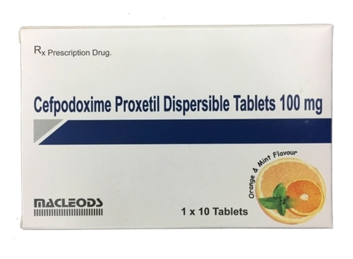 CEFPODOXIME TABLET 100 MG