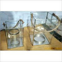 Lantern Glass Table Top