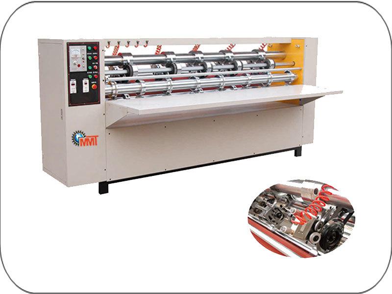 Eccentric Rotary Card Board Cutter Machine