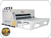 Chain Feed Two Color Printer Slotter Machine