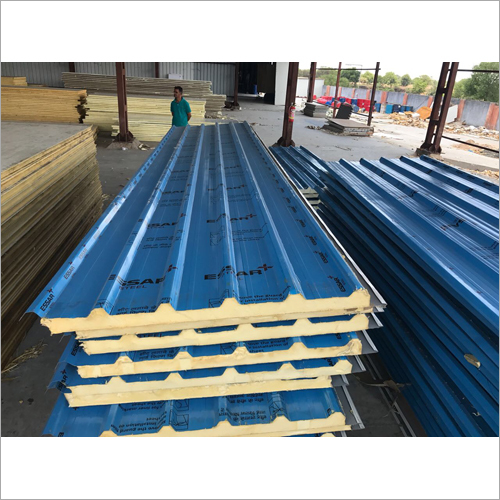 Roof Panel Blue