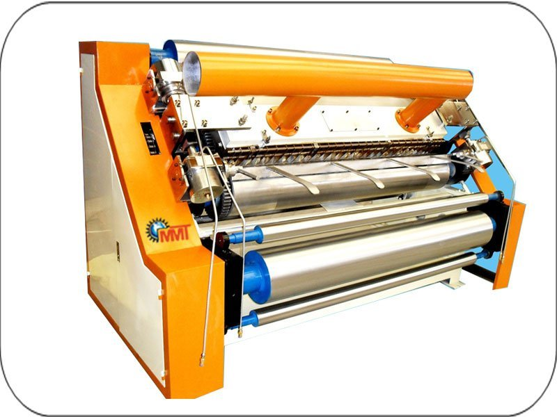 Double Profile Corrugation Machine