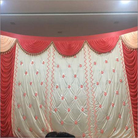 Dark Red Curtains
