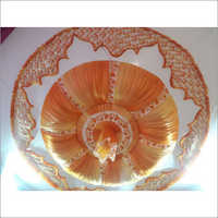 Golden and White Ceiling Shaiyana