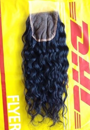 Raw Natural Curly Hair Closure
