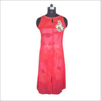Red Georgette Kurtis