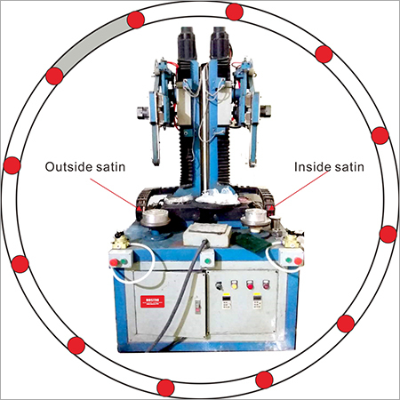 Automatic Satin Machine