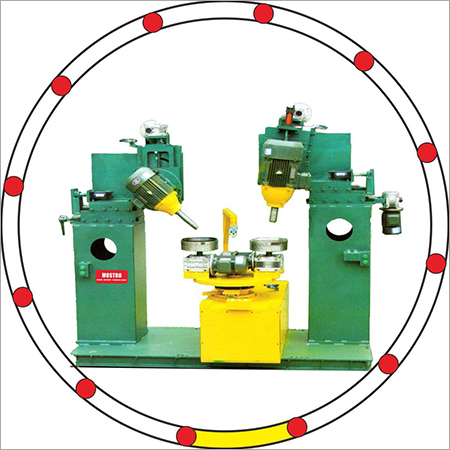 Hydraulic Inside Polishing Machine (2 heads, 2 stations)
