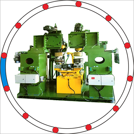 Hydraulic Inside Polishing Machine (4 heads, 2 stations)