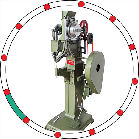 Auto feeder riveting machine outside