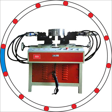 2 SIDES PUNGHING HOLE MACHINE