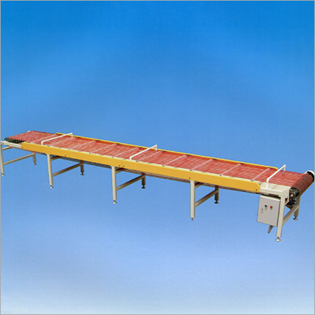Glass offcut conveyor belt