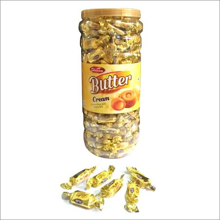 Butter Cream Jar