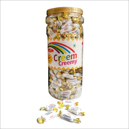 Creamy Cream Jar