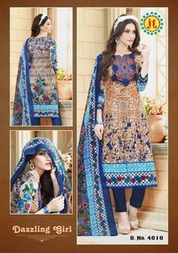 KARACHI COTTON UNSTITCHED SALWAR KAMEEZ