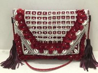 Mirror Work Embroidery Bag