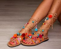 Fancy Embroiderd Ladies Sandals