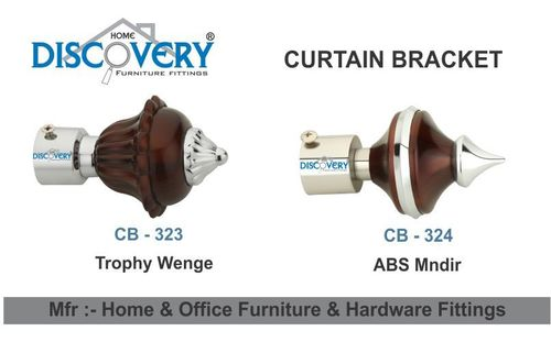 Curtain Bracket & Finial Fittings