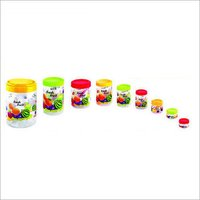 Round Printed Container