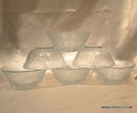Glass Food Storage Container Glass Bowl Set With Lids