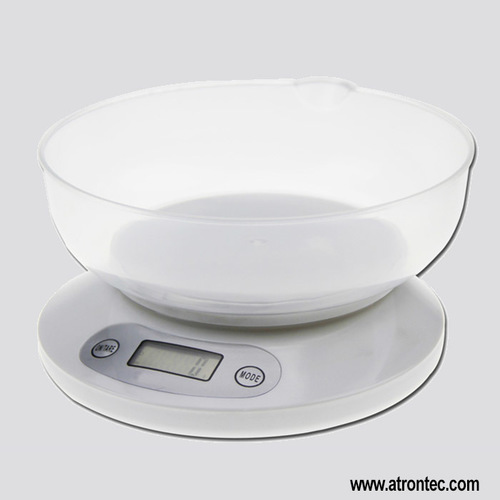 Digital Kitchen Scale With Food Bowl