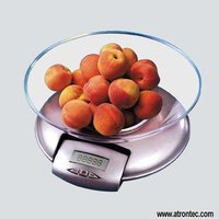 Glass Bowl Kitchen Scale