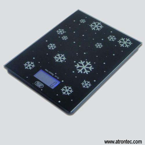 Glass Platform Electronic Kitchen Scale