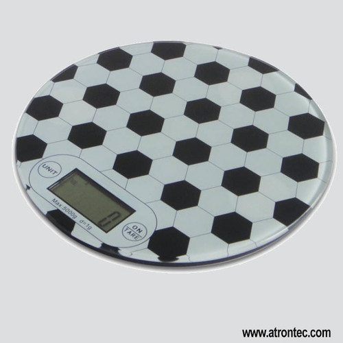 Round Kitchen Scales
