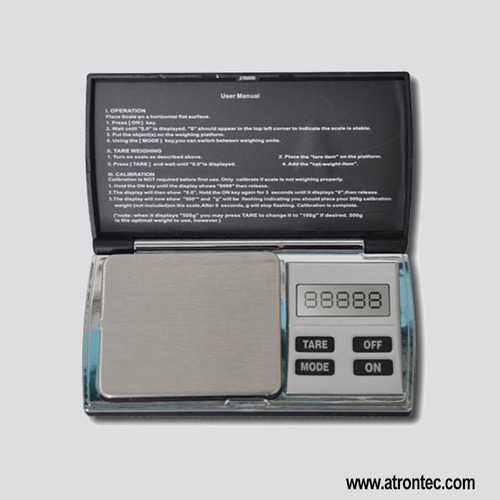 Notebook Jewelry Scale
