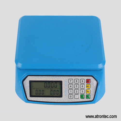 LCD Display Retail Scale