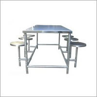 Canteen Table With Folding Stool