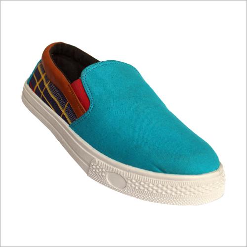Mens Canvas Deck Shoe