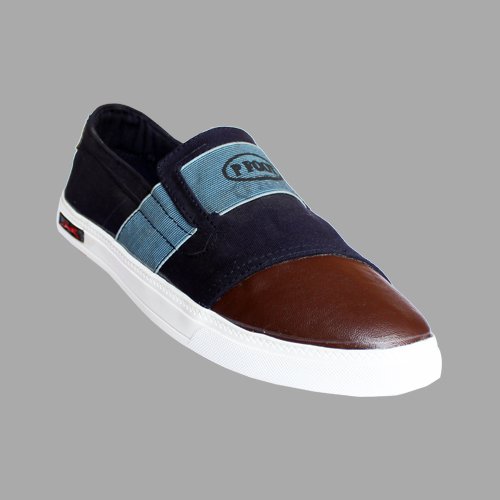 Mens Flat Canvas Shoe
