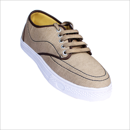 Mens Designer Canvas Casual Shoe