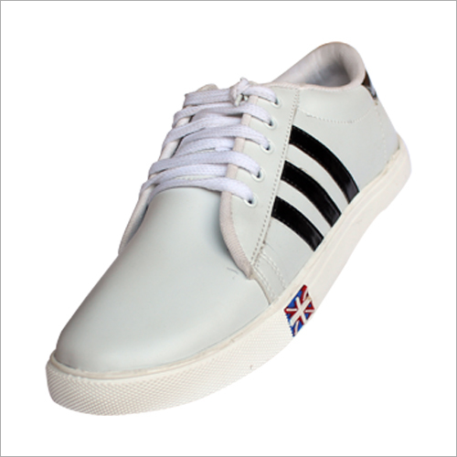 Mens White Casual Shoe