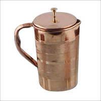 1つのltrの銅の水差し
